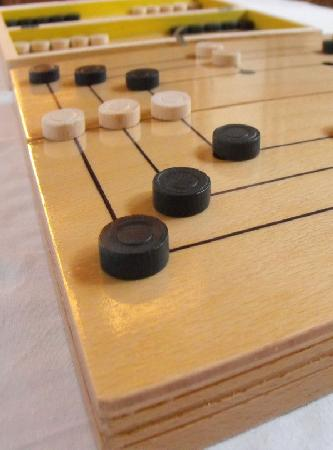 M size Mill/Backgammon